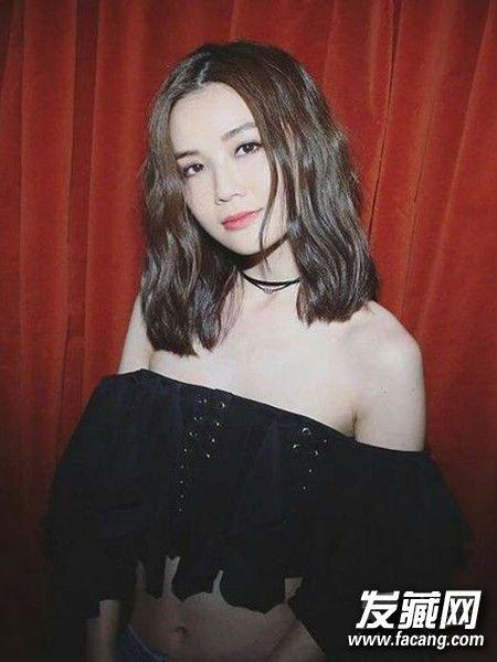 2017最新韩式锁骨发型