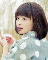 齐刘海学生头也引发网友怀旧风 气质小美女孙怡发型图片