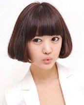 荷叶头发型齐刘海清新又减龄 我想你也需要一款