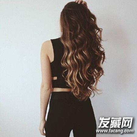 待我长发及腰时 长卷发绝对是首选发型! 长卷发发型