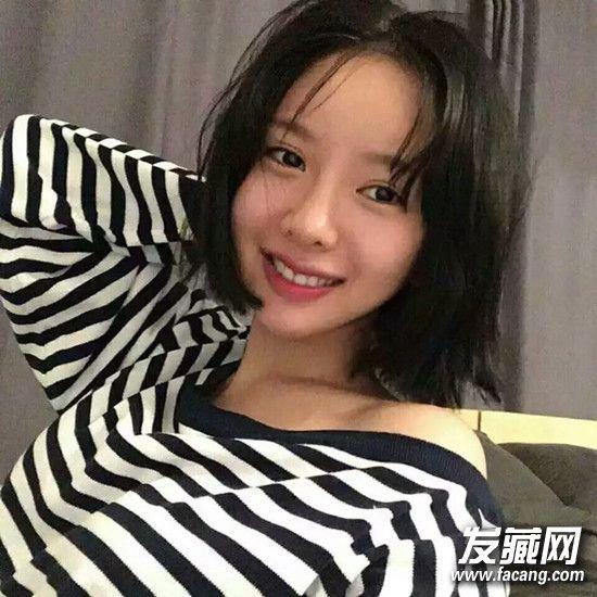 韩国女生短发造型集锦 13款look韩国女生短发图片