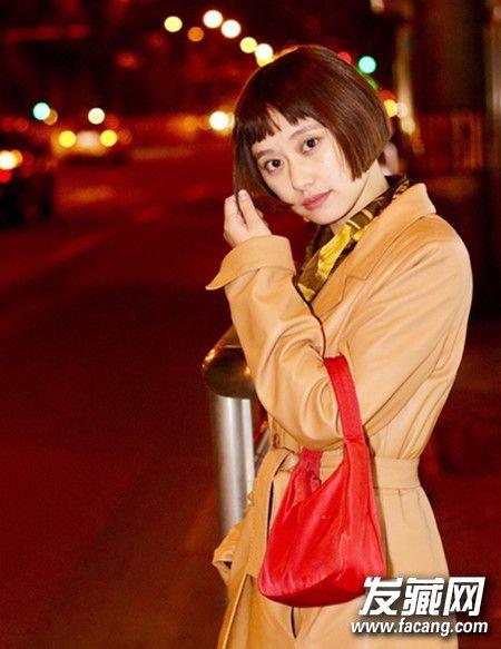 刘海+短发萌炸了!10款澳门网上博彩娱乐官网又减龄 刘海短发