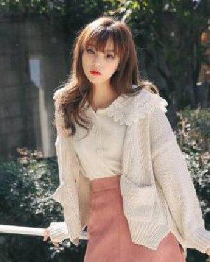 空气刘海长发发型 韩式空气刘海搭披肩发甜美清纯