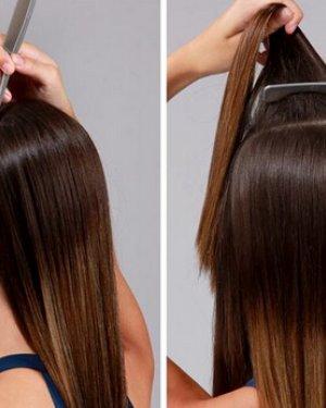 直发发型扎法步骤让你扎出独特马尾