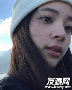 欧阳娜娜发型 长直发甜美又养眼