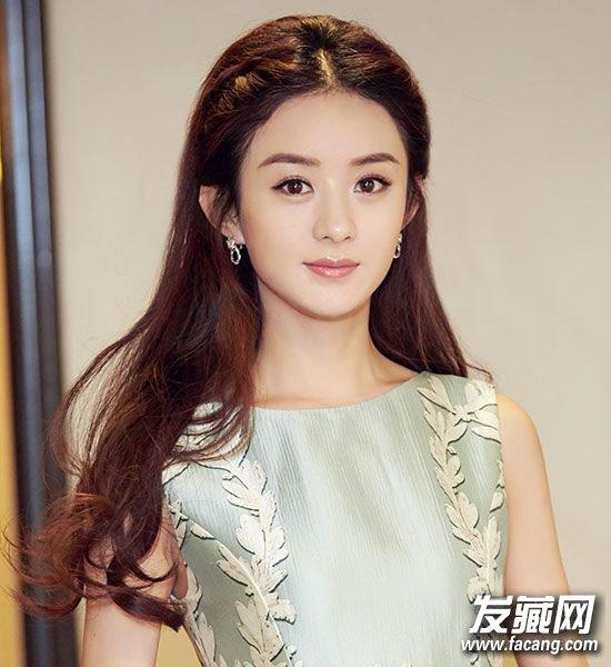 赵丽颖少女发型图片(3)