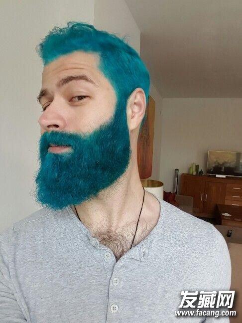 2017年流行色终于集齐了,男人们却用它来染胡子! 染发颜色搭配