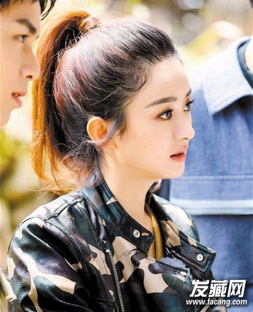 节目中赵丽颖扎的发型也很可爱,赵丽颖发型叫什么?