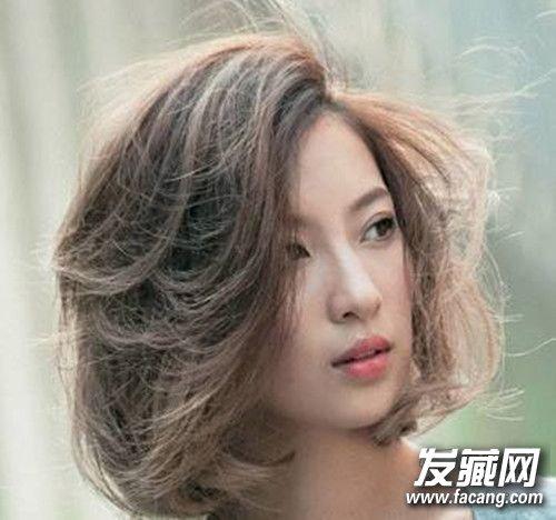 圆脸女生适合什么短发2017 方脸女生适合什么短发 脸型与短发的搭配