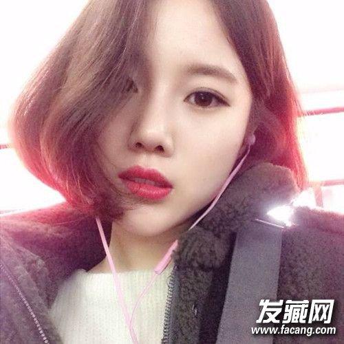 瓜子脸适合什么刘海女?女生瓜子脸适合什么刘海?图片
