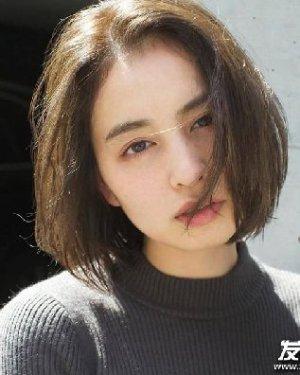 绝对性感优雅 唇周长度的刘海发型推荐