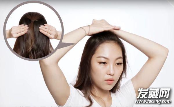 改善天生扁塌头顶 绑个气质公主头瞬间变蓬松 头发扁塌怎么办