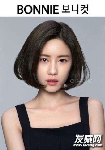 韩国流行短发都在这里!超短发 眉上刘海 小卷
