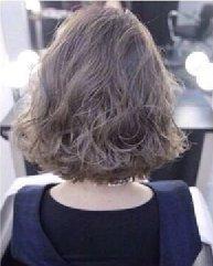 流行短发卷发图片分享 齐肩款短卷发发型