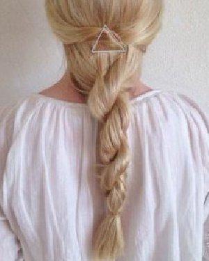 长发怎么扎好看?简单长发马尾辫发型