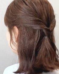 2021短头发、中短发发型图片 蓬松剂感韩风发辫