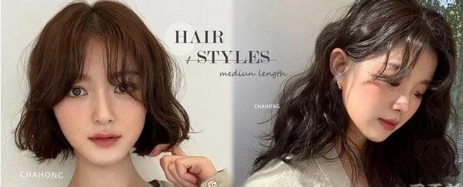 """冬季6种""""中发/短发""""发型!2021年 日韩最入头的造型就在这里"""