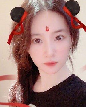 刘亦菲哪吒头上热搜 神仙姐姐同款la zhua发型你get啦吗?